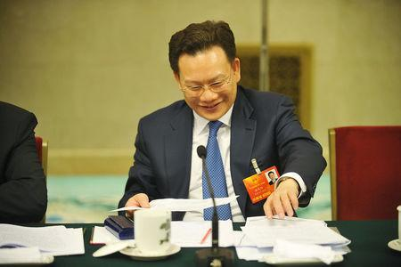 FILE PHOTO: Pan Yiyang, attends a meeting as a delegation of the Inner Mongolia Autonomous Region in Beijing
