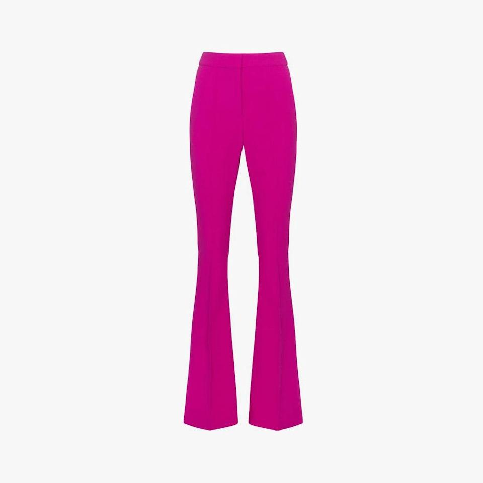 "$350, MYTHERESA. <a href=""https://www.mytheresa.com/en-us/rebecca-vallance-amina-high-rise-crepe-pants-1774616.html"" rel=""nofollow noopener"" target=""_blank"" data-ylk=""slk:Get it now!"" class=""link rapid-noclick-resp"">Get it now!</a>"