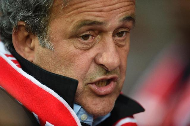 Michel Platini says his ban from football should now be lifted (AFP Photo/JEAN-CHRISTOPHE VERHAEGEN)