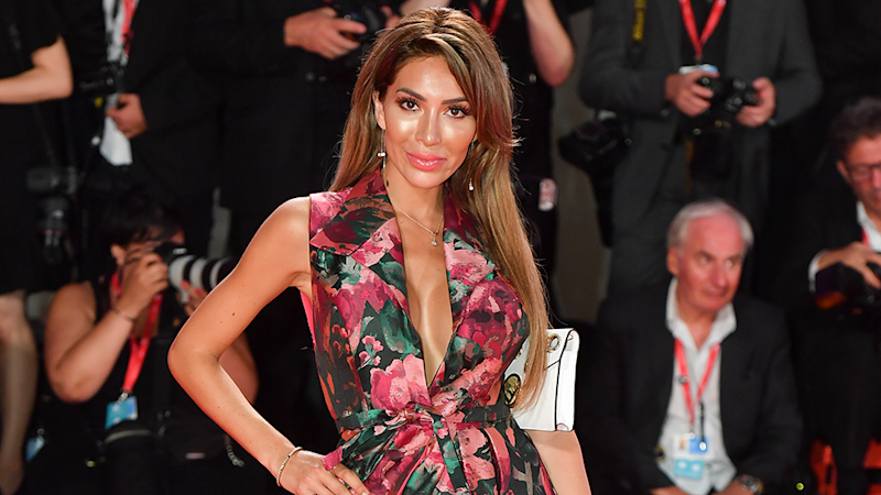 Teen Mom star Farrah Abraham at the 2019 Venice Film Festival on August 29