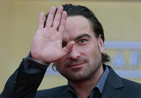 Actor Johnny Galecki arrives at the 19th annual Screen Actors Guild Awards in Los Angeles