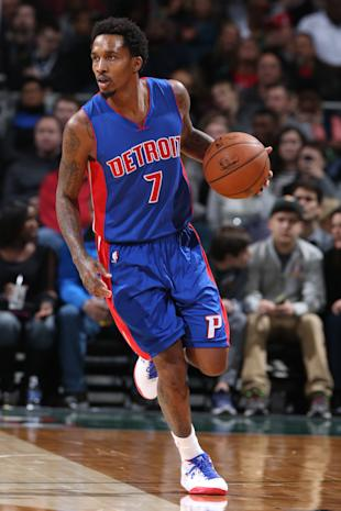 Brandon Jennings is cool with coming off the Pistons bench