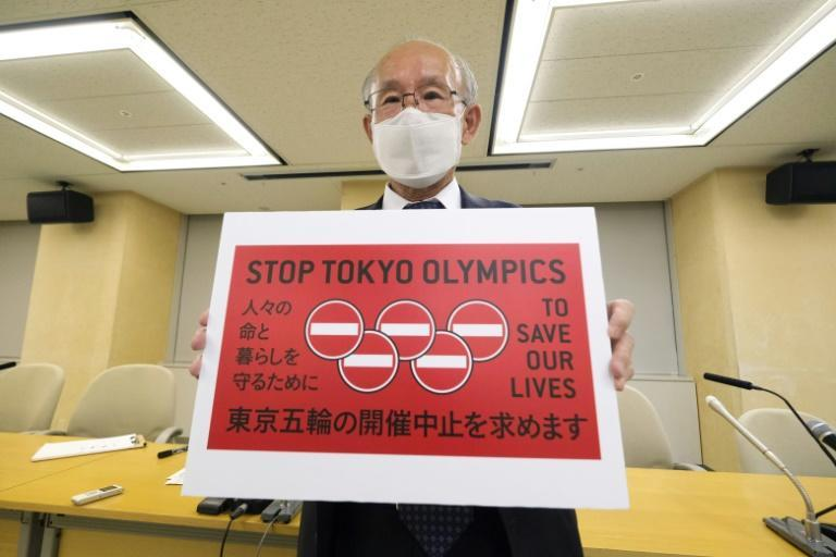 More than 351,000 people have signed a petition calling for the Tokyo Games to be cancelled