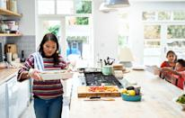 "<p>When you have the time, cooking your own meal is a great way to think about why you're eating and be appreciative for what you have.</p><p>""When you are involved in the process of prepping and cooking from start to finish, it makes the meal not only more enjoyable but more nutritionally beneficial as you have had a hand in everything that is on your plate,"" Nekonam says. ""You know 100% what you are putting into your body."" </p>"