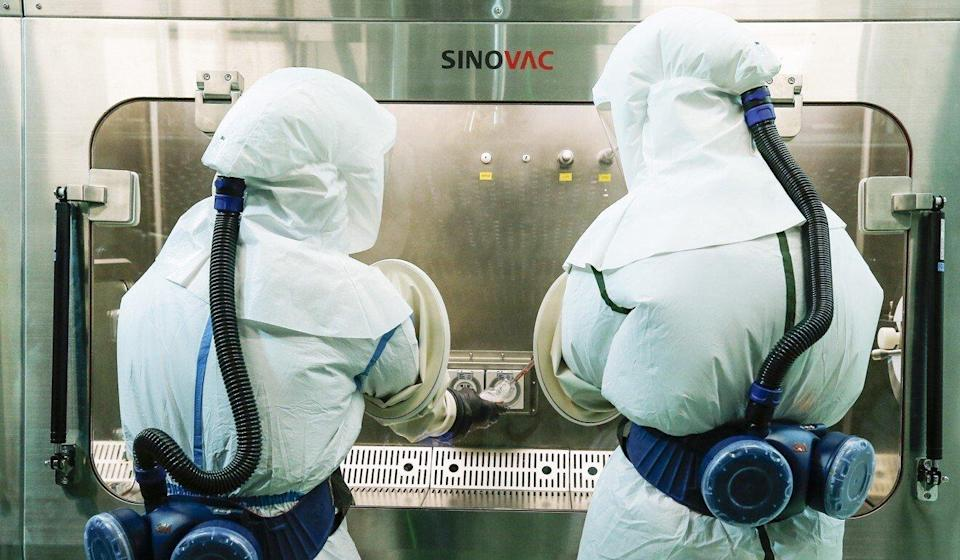 A vaccine made by Sinovac was found to be 50 per cent effective in late-stage trials in Brazil. Photo: Xinhua