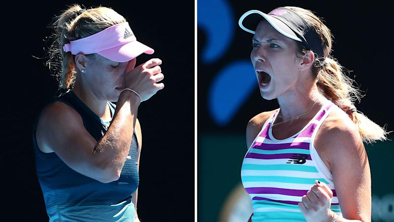Birthday girl Kerber storms past Birrell into Australian Open last-16