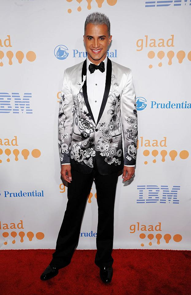 """Tyra's """"Top Model"""" sidekick Jay Manuel was also in the house. He's considered a fashion expert? Dimitrios Kambouris/<a href=""""http://www.wireimage.com"""" target=""""new"""">WireImage.com</a> - March 28, 2009"""