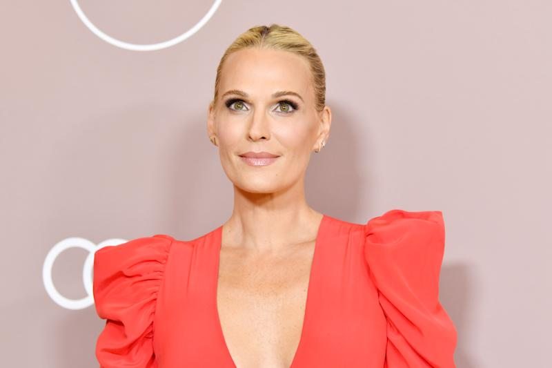 The actress and entrepreneur shares her evening skincare routine, including her favorite CBD skincare products. (Photo: Getty Images)