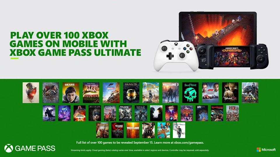 Game Pass Ultimate features hundreds of Xbox games in its virtual library.