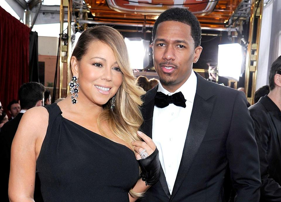 """<p>While performing in Tokyo, Mariah tweaked the lyrics to a Billie Holiday song, 'Don't Explain,' which was already a song about a cheater. Per <a href=""""https://www.tmz.com/2014/10/06/mariah-carey-nick-cannon-cheating-divorce-cheated/"""" rel=""""nofollow noopener"""" target=""""_blank"""" data-ylk=""""slk:TMZ"""" class=""""link rapid-noclick-resp"""">TMZ</a>, the Elusive Chanteuse changed the lyrics from 'And I know you cheat / right or wrong, don't matter"""" to """"I know you cheated, motherfucker.'</p>"""
