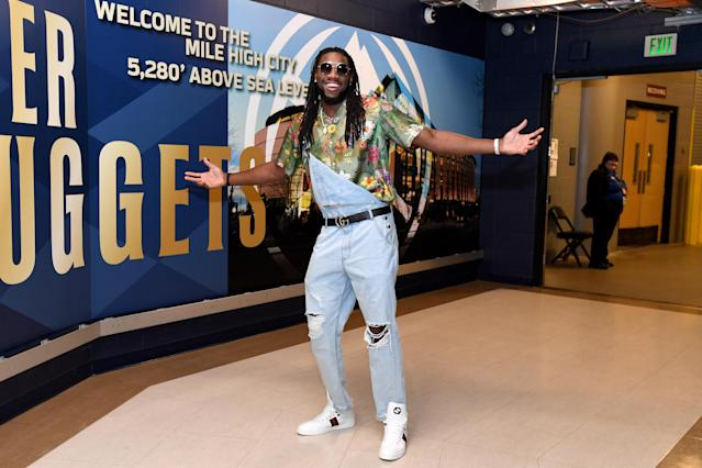 Kenneth Faried played seven seasons for the Denver Nuggets. (Getty Images)