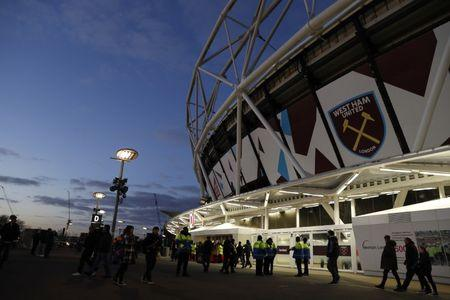 Britain Football Soccer - West Ham United v Arsenal - Premier League - London Stadium - 3/12/16 General view outside the stadium before the game Action Images via Reuters / John Sibley FILE PHOTO