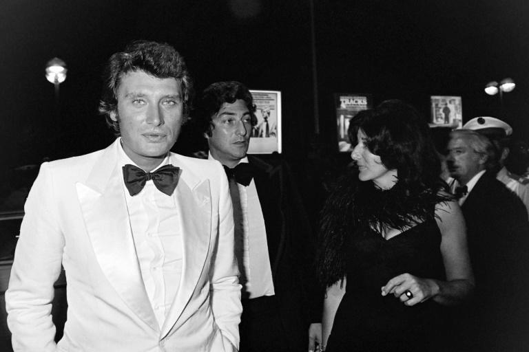 Hallyday parlayed the huge success from Gallic covers of US rock 'n' roll (AFP/-)