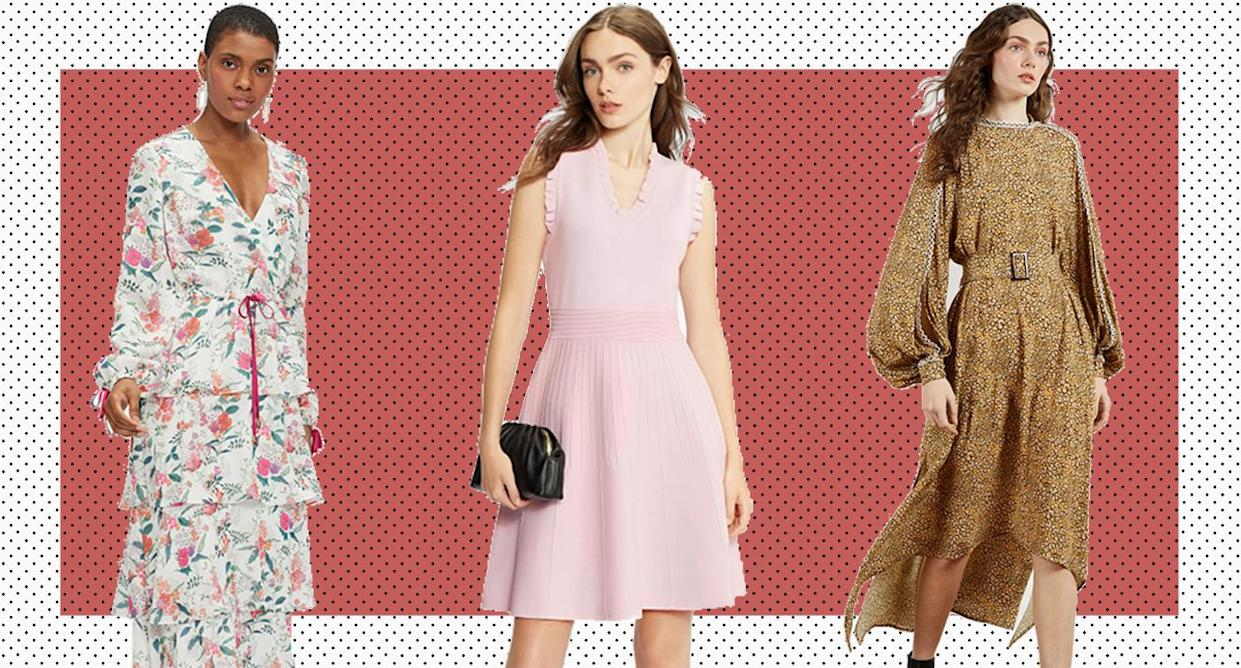Ted Baker has some stylish designs you don't want to miss. (Ted Baker/ Yahoo Lifestyle UK)