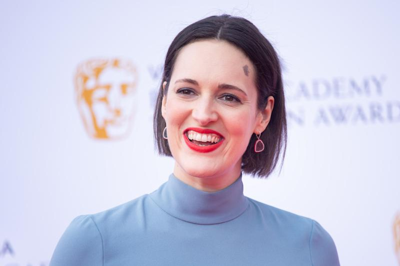 Phoebe Waller-Bridge attending the Virgin Media BAFTA TV awards, held at the Royal Festival Hall in London. (Credit: Matt Crossick/PA Wire)