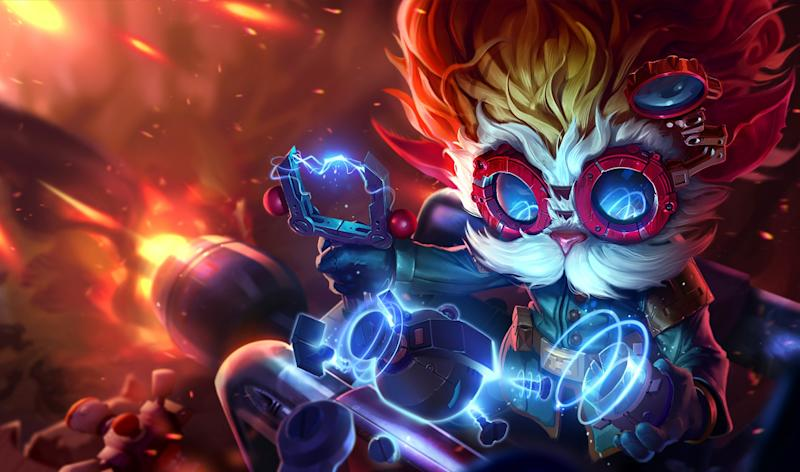 Will Heimerdinger finally have his place in the sun? (Riot Games)