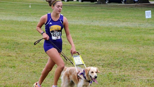 Teen Blinded by Stargardt's Disease Chases Dreams With Guide Dog