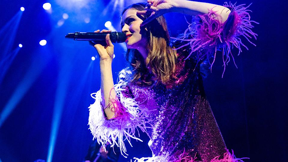 Sophie Ellis-Bextor has revealed her sometimes skimpy outfits embarrass her teenage son Sonny! (Image: Getty Images)