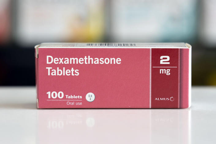 Coronavirus: Dexamethasone 'definitely' saved man's life