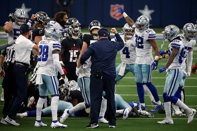 Cowboys look to build off character-check win over Falcons