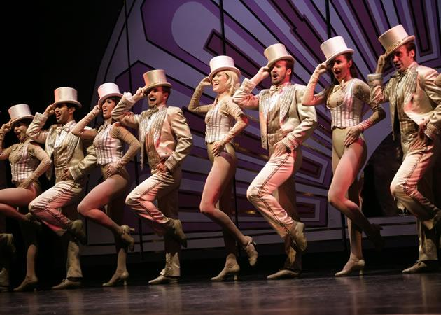 """Part of the cast of """"A Chorus Line"""", the restaging of the 1975 Broadway musical that won nine Tony awards and a Pulitzer prize. (Photo courtesy of Base Entertainment)"""