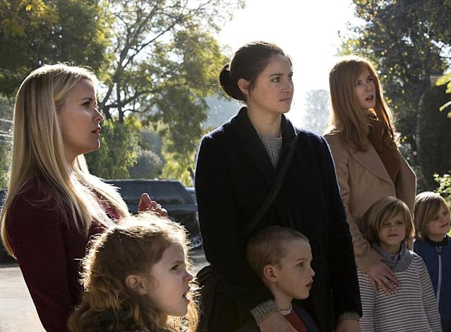 "<p>At first glance, HBO's Emmy-winning drama is a glamorous, movie star-filled look at the lives of the beautiful and wealthy on the breathtaking coast of Monterey. But after introducing the season-long mystery (who dies at the school fundraiser and who is the killer), <em>Big Little Lies</em> becomes much more than real estate porn. The suburban backdrop proved the point that even people who look like they have it all, often have the biggest problems. And with its exploration of domestic abuse, rape, and female friendship (and antagonism), it was the show most emblematic of 2017. <i>— K.W.</i><br><br><em>Available to stream: <a href=""https://www.youtube.com/watch?v=rF_1iPFr6Dw"" rel=""nofollow noopener"" target=""_blank"" data-ylk=""slk:HBO"" class=""link rapid-noclick-resp"">HBO</a></em><br><br>(Photo: HBO) </p>"