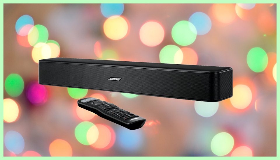 Bose Solo 5 Television Sound System is on sale for $199. (Photo: Bose)