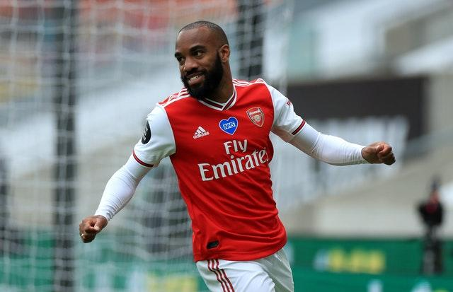 Lacazette has been in fine form since the season restarted in June.