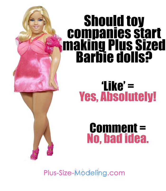 Plus-Size Barbie Doll Triggers Facebook Debate on Anorexia