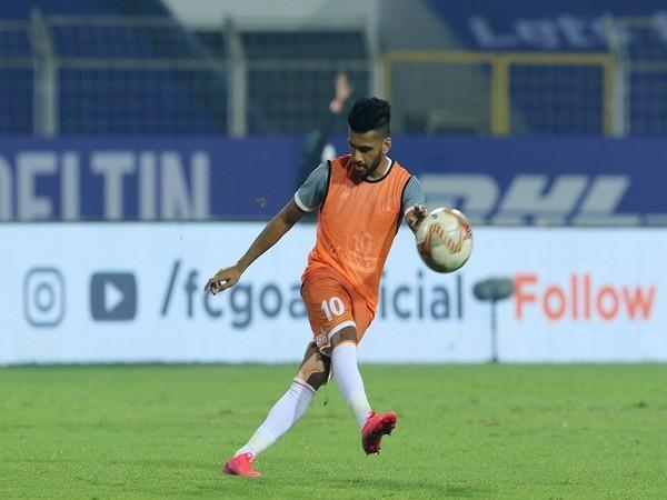 FC Goa will expect a solid performance from ace midfielder Brandon Fernandes (Image: ISL)