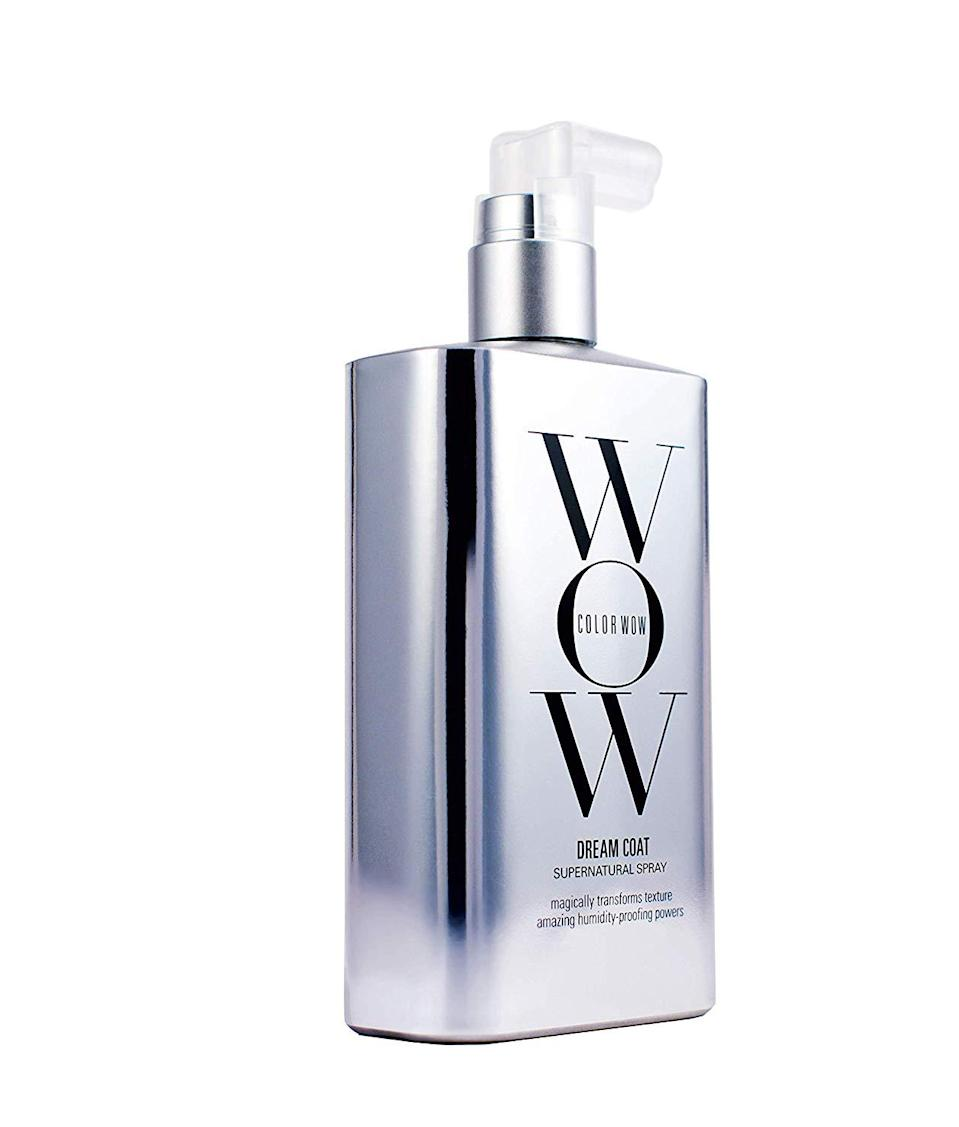 """<h3>Color Wow Dream Coat Supernatural Spray</h3><br><br>Humidity doesn't stand a chance against this smoothing, anti-frizz spray. Basically, it works as a <em>Harry Potter</em> invisibility cloak against the elements, making it a summer beauty must-have.<br><br><strong>Color Wow</strong> Dream Coat Supernatural Spray, $, available at <a href=""""https://amzn.to/3d5VMlw"""" rel=""""nofollow noopener"""" target=""""_blank"""" data-ylk=""""slk:Amazon"""" class=""""link rapid-noclick-resp"""">Amazon</a>"""
