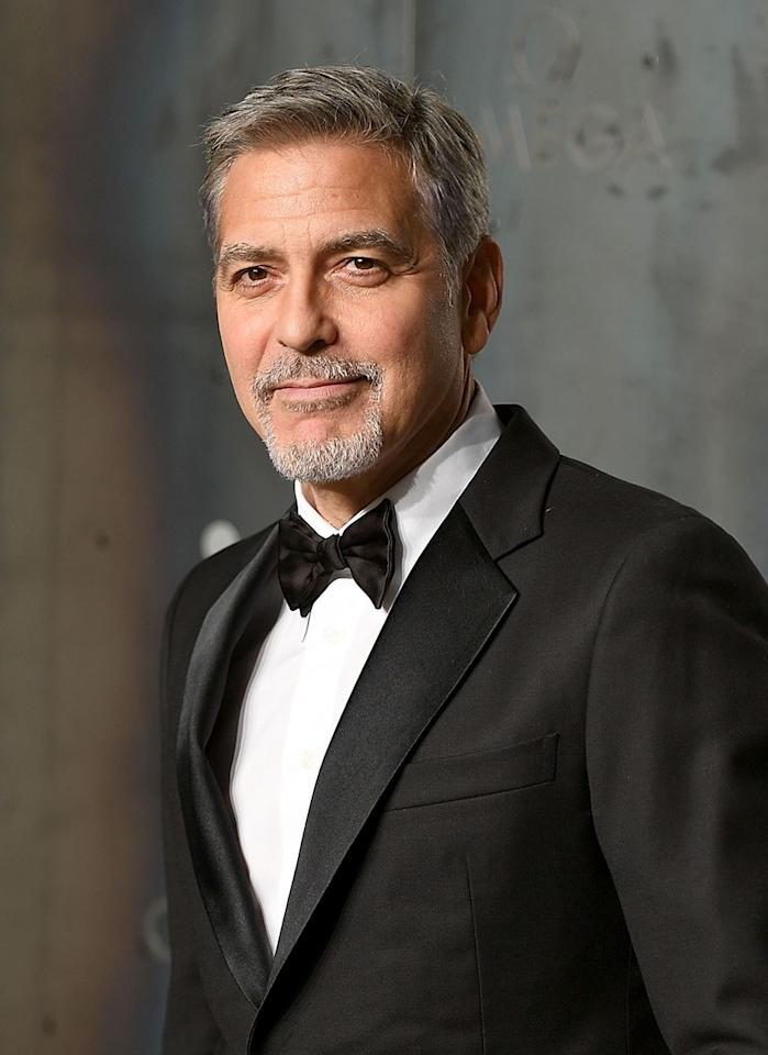 "<p>Perhaps the foxiest silver fox of all is this guy. The 56-year-old superstar's salt and pepper style is a long way from his days as George With the Mullet on <em>Facts of Life</em>. Now a new dad to twins (with his <a rel=""nofollow"" href=""https://www.yahoo.com/celebrity/george-amal-clooneys-new-baby-boy-georges-nose-says-grandpa-nick-174522413.html"">superwoman wife Amal</a>), expect the ""pepper"" part to become all ""salt."" (Photo: Mike Marsland/Mike Marsland/Getty Images for OMEGA) </p>"