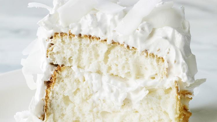 <p>This light and airy layer cake is one of our most popular coconut recipes. And for good reason! It's made with cake flour and 14 egg whites (yes, 14!), which creates a cloudlike texture.</p>