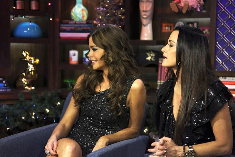 Denise Richards and Kyle Richards on <em>Watch What Happens Live with Andy Cohen</em>