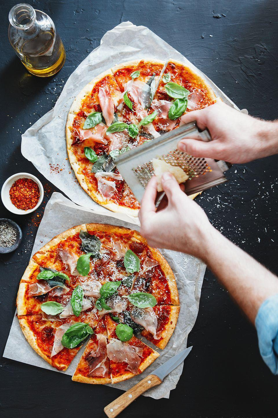 """<p>Spend an evening learning how to cook or bake a new dish together, or you can save money by taking a free """"class"""" at home. There are several popular <a href=""""https://www.youtube.com/channel/UCRIZtPl9nb9RiXc9btSTQNw"""" rel=""""nofollow noopener"""" target=""""_blank"""" data-ylk=""""slk:YouTube"""" class=""""link rapid-noclick-resp"""">YouTube</a> channels you can watch to learn how to make something scrumptious, or be your own teachers using a <a href=""""https://www.countryliving.com/food-drinks/g1115/romantic-valentines-day-dinners/"""" rel=""""nofollow noopener"""" target=""""_blank"""" data-ylk=""""slk:new recipe you find online"""" class=""""link rapid-noclick-resp"""">new recipe you find online</a>.</p>"""
