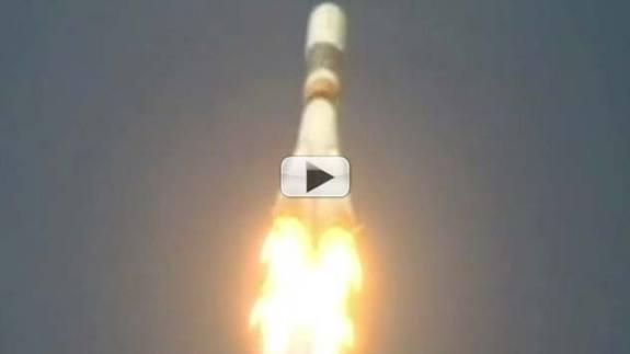 Space Station Re-Supply Ship Launches But Has Antenna Glitch | Video