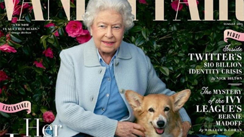 Queen Elizabeth Mourns the Death of One of Her Corgis, Holly