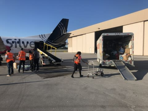 Silver Airways Continuing Bahamas Relief Efforts