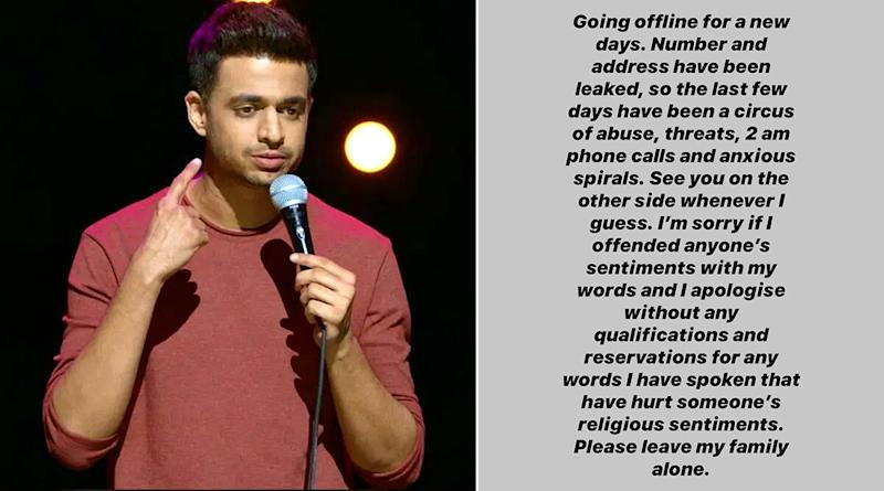 Comedian Rohan Joshi's Number and Family Address Get Leaked Online, Goes Off Twitter and Instagram After Receiving Abusive Threats (Check His Post)