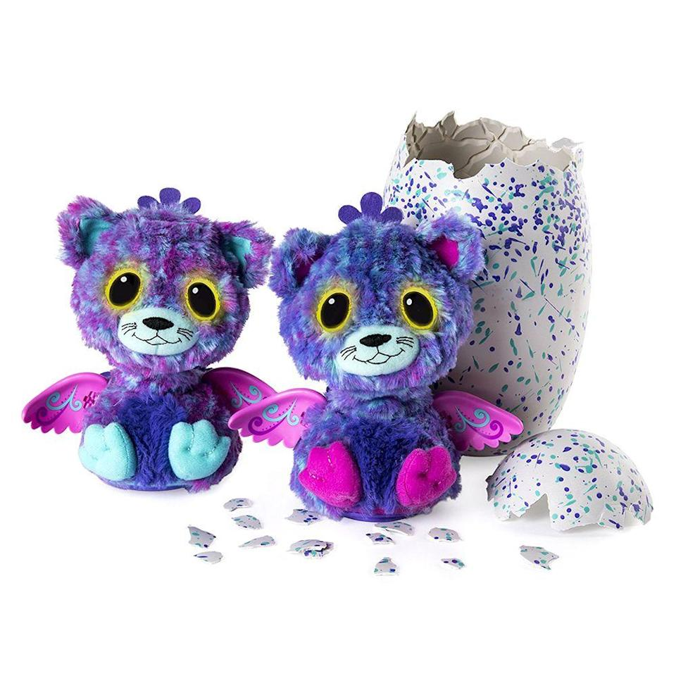 "<p><a class=""link rapid-noclick-resp"" href=""https://www.amazon.com/Hatchimals-Surprise-Interactive-Hatchimal-Creatures/dp/B01N424GFS/ref=sr_1_6?tag=syn-yahoo-20&ascsubtag=%5Bartid%7C10063.g.34738490%5Bsrc%7Cyahoo-us"" rel=""nofollow noopener"" target=""_blank"" data-ylk=""slk:BUY NOW"">BUY NOW</a><br></p><p>These hatching little furry friends are still popular among kids today, but in 2016, they were sold out everywhere. The idea for this self-opening toy came from the popularity of unboxing videos on YouTube. After the first launch in October 2016, Hatchimals quickly became the hottest toy that holiday season.</p>"