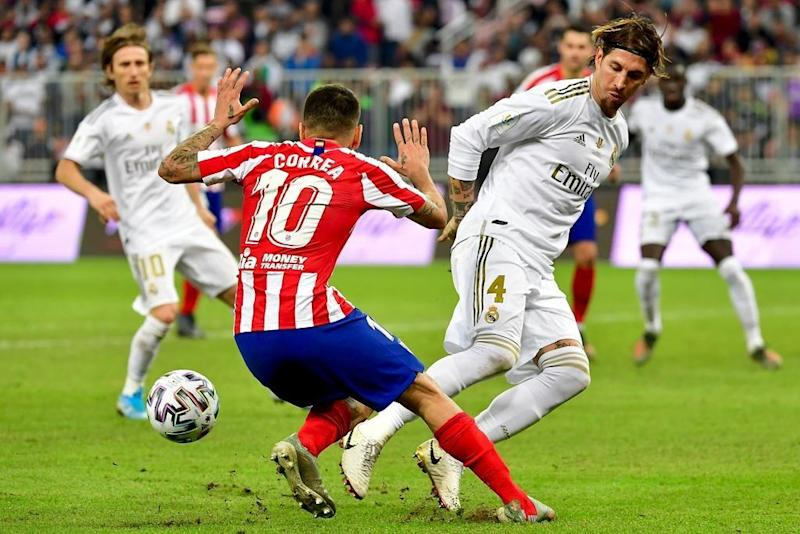 Real Madrid beat Atletico Madrid on penalties to claim Spanish Super Cup