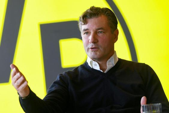 Michael Zorc has overseen Dortmund's return to the top (AFP/Getty )