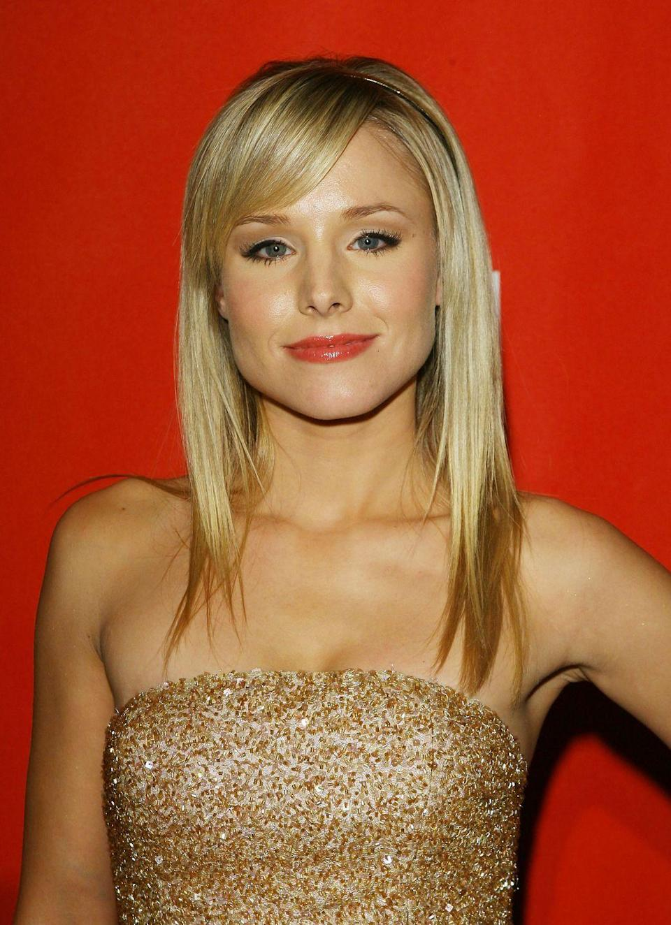 <p>You know the ominous-yet-soothing-AF voice of Gossip Girl that we never actually saw until the end of the series? Yep, Kristen Bell—an icon since her <em>Veronica Mars </em>days—was the <em>Gossip Girl</em> voiceover.</p>
