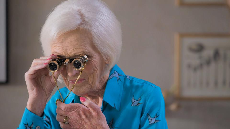 Mary Berry judges in 'Celebrity Best Home Cook'. (BBC/Keo Films)
