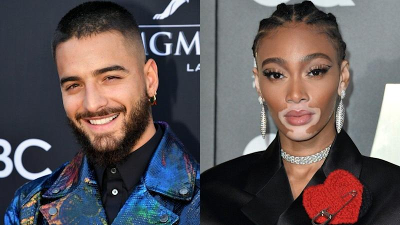 Maluma and Winnie Harlow Exchange Flirtatious Comments, Spark Romance Rumors
