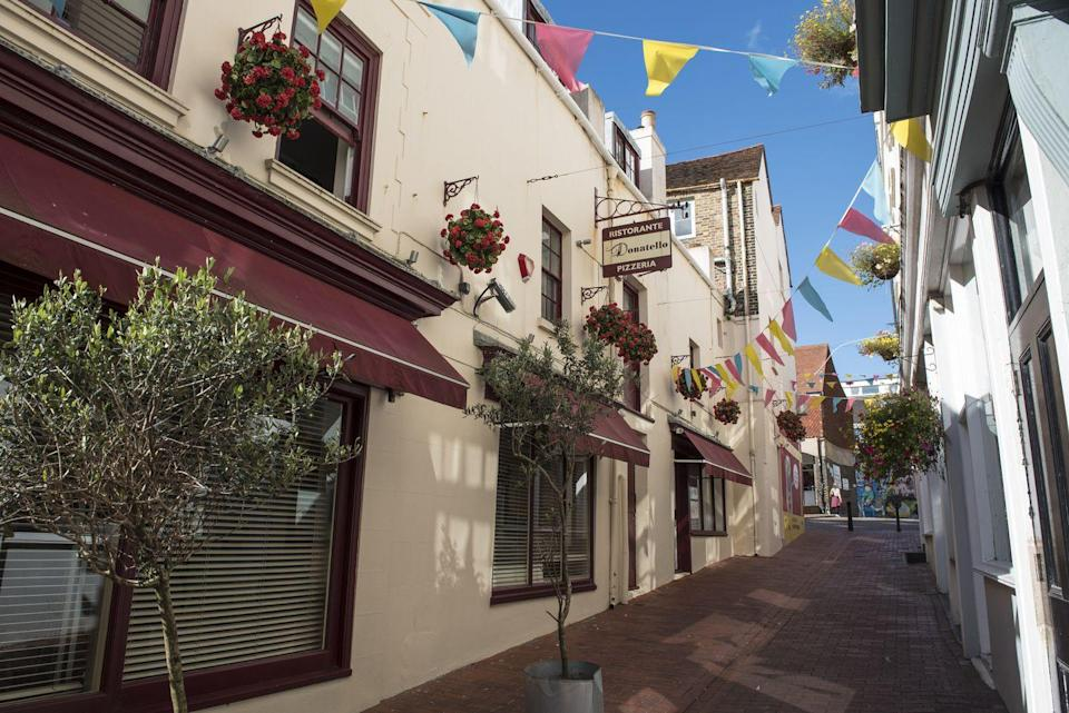 <p>Brighton's quirkiest shopping district is the fabulous Lanes, a pretty pedestrianised district home to jewellers, antique shops, art galleries, vintage boutiques and more - but you won't find any chain stores here. </p><p>Spend an afternoon picking out some of the unique pieces here, or lose yourself for a couple of hours simply window shopping.</p>