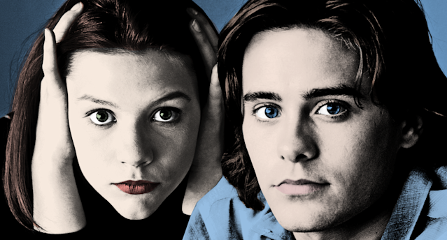 Danes and Jared Leto (Jordan Catalano) in <em>My So-Called Life</em>. (Photos: Everett Collection)