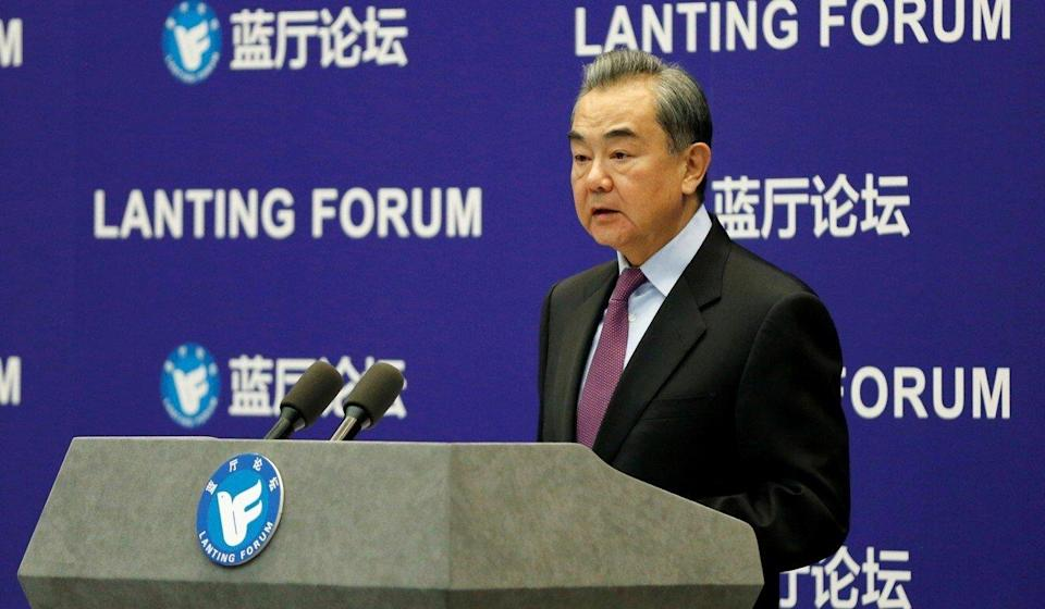 Chinese Foreign Minister Wang Yi will also participate in the talks in Anchorage. Photo: Reuters