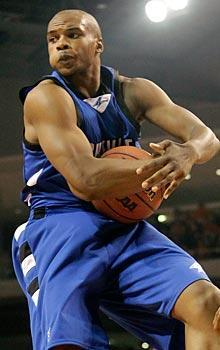 Leaper John Williams is part of an experienced lineup for UNC Asheville
