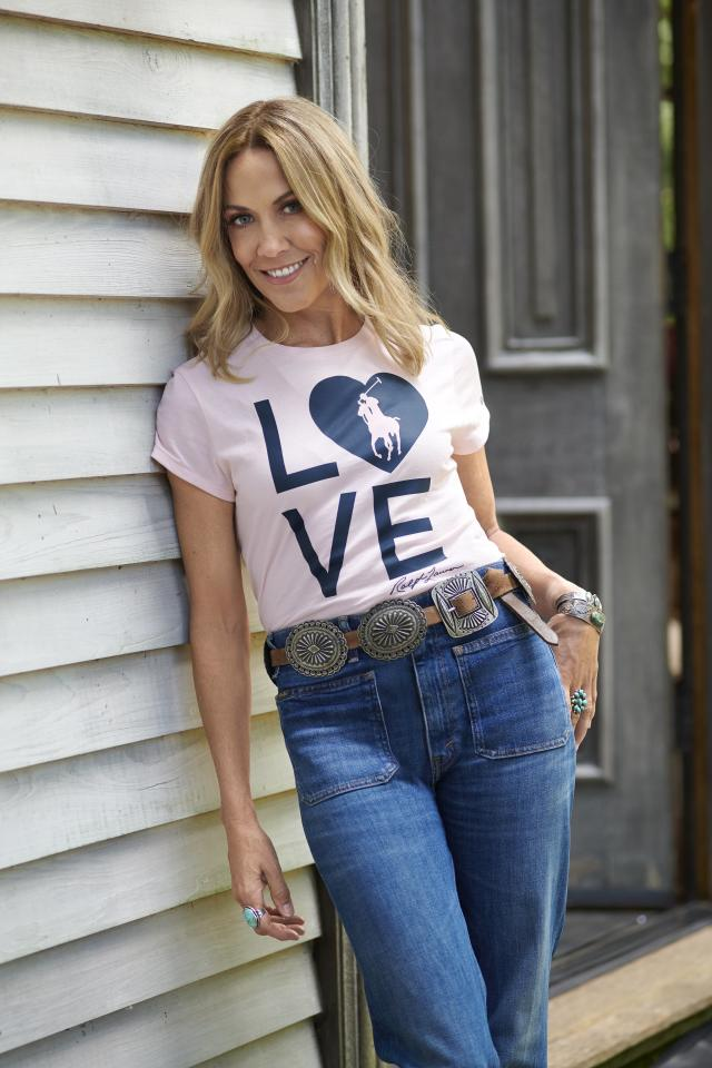 """100 percent of the purchase price from the sale of each light-pink tee (modeled by Sheryl Crow, who's teaming with the brand on its Together in Pink campaign) will go to the Pink Pony Fund of the Polo Ralph Lauren Foundation or to an international network of cancer charities.  <strong>Buy It!</strong> $68; <a href=""""https://www.ralphlauren.com/men-clothing-t-shirts/mens-pink-pony-live-love-t-shirt/CYO3300.html#q=live%2Blove&lang=en_US&start=1"""">ralphlauren.com</a>"""